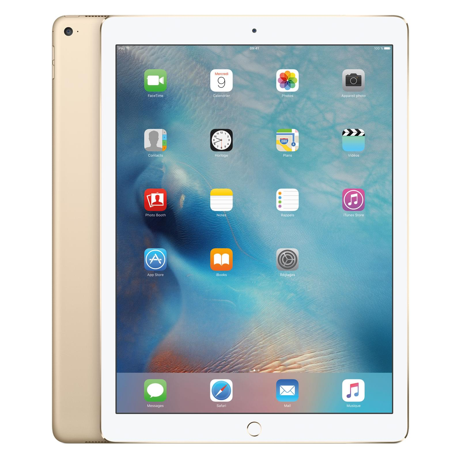 Apple iPad Pro Wi-Fi 32Go Or (ML0H2NF/A) - Achat / Vente Tablette Tactile sur Cybertek.fr - 0