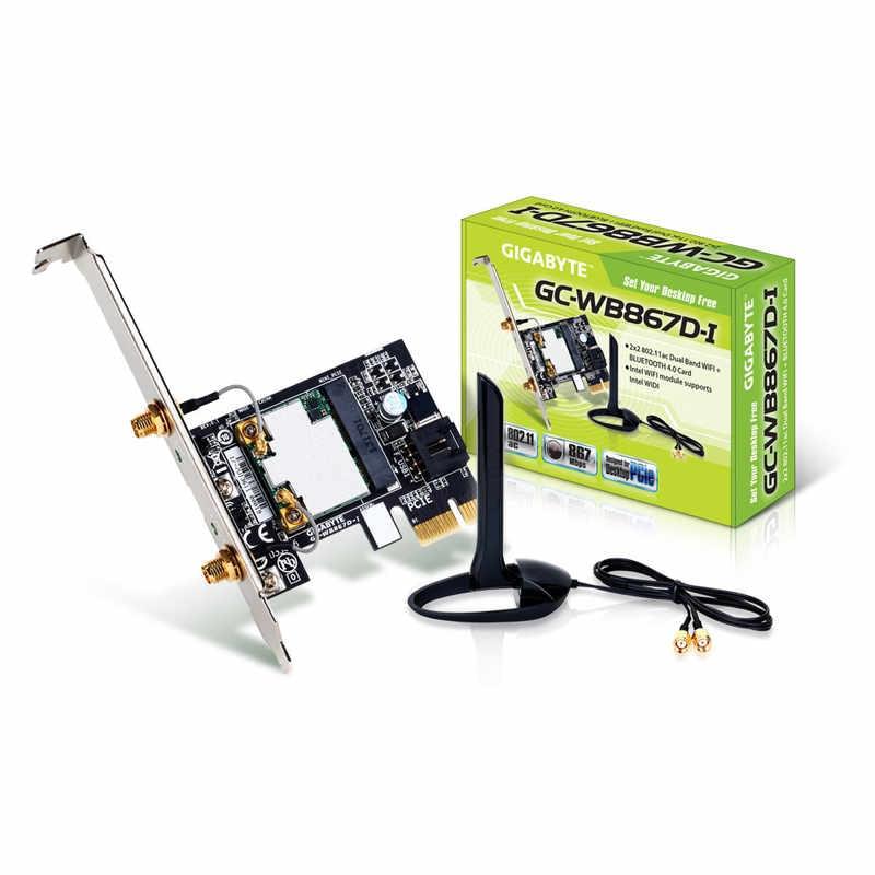 Gigabyte PCI-E BT4/WiFi n (GC-WB867D-I) - Achat / Vente Carte Réseau sur Cybertek.fr - 0