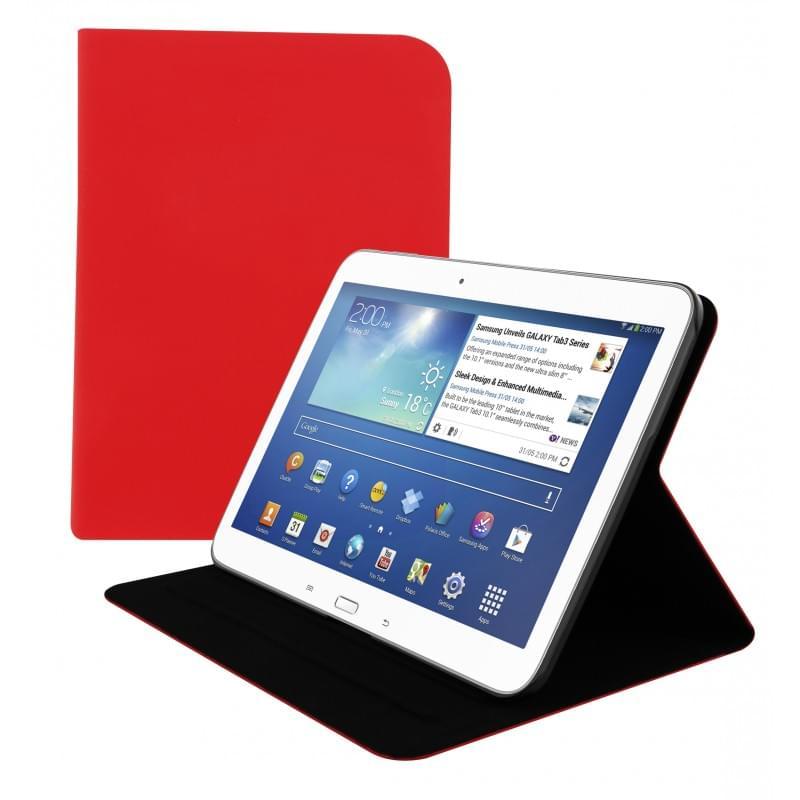 """T'nB ULTRA SLIM Rouge pour Galaxy Tab 4 10"""" (SGAL4RD10) - Achat / Vente Accessoire Tablette sur Cybertek.fr - 0"""