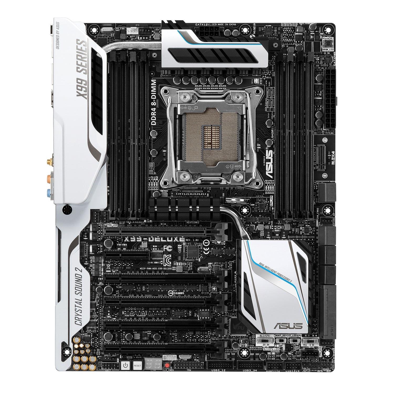 Asus X99-Deluxe/U3.1 (90MB0JF1-M0EAY0) - Achat / Vente Carte mère sur Cybertek.fr - 1