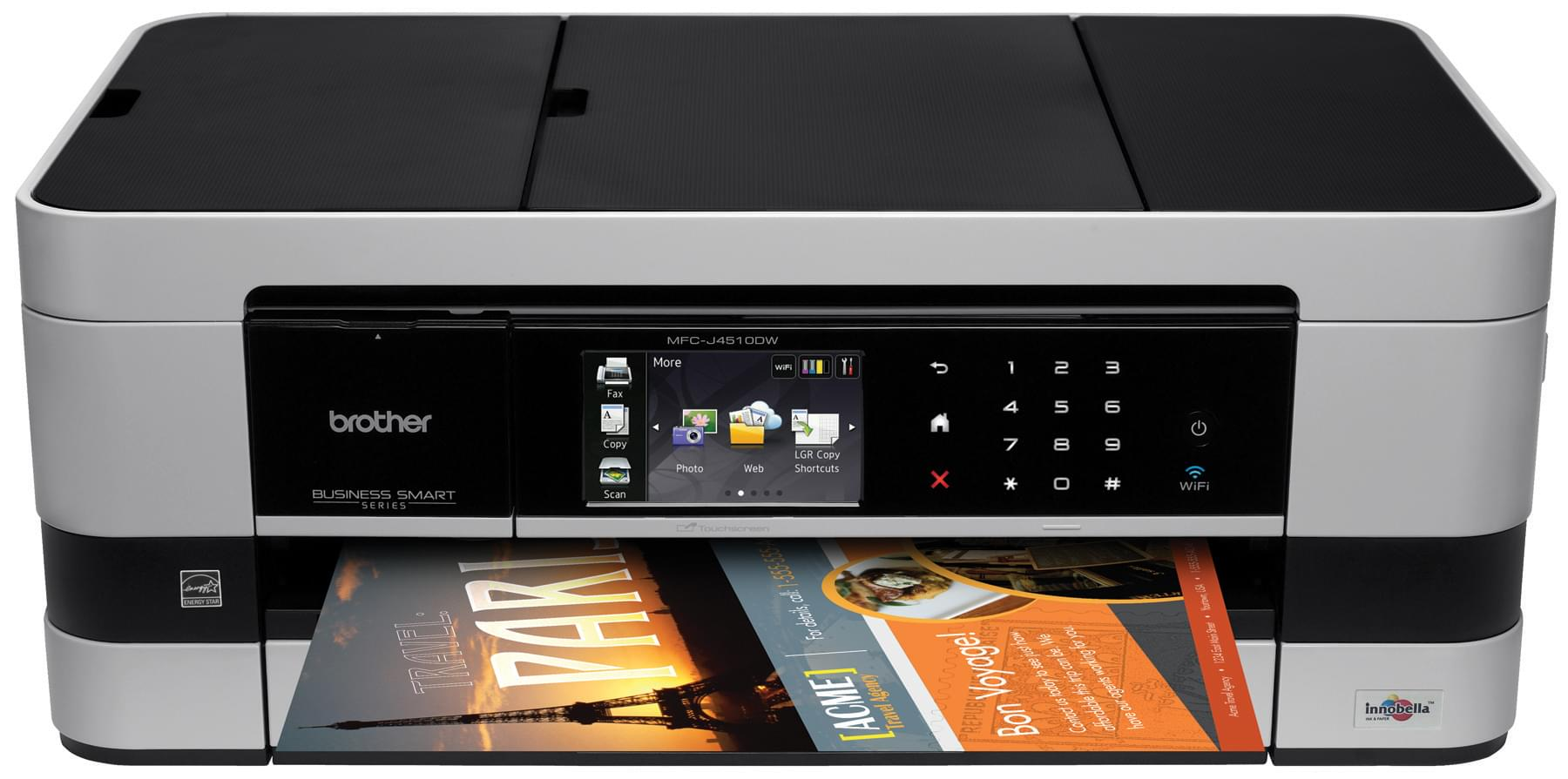 Brother MFC-J4510DW (MFCJ4510DWF1) - Achat / Vente Imprimante Multifonction sur Cybertek.fr - 0