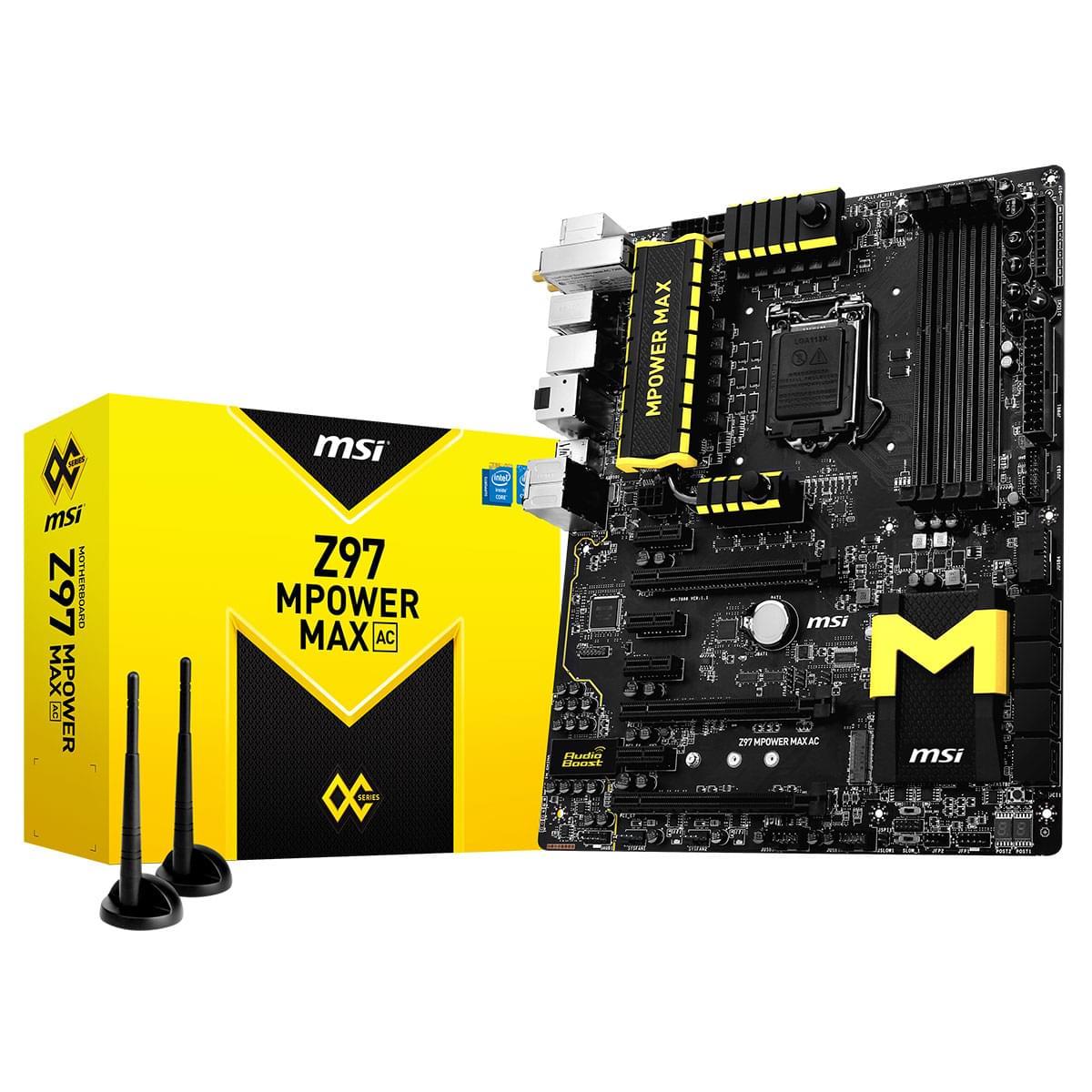 MSI Z97 MPOWER ATX DDR3 - Carte mère MSI - Cybertek.fr - 0