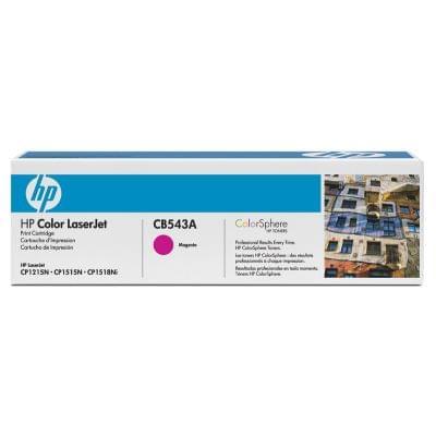 Toner Magenta 1400p - CB543A pour imprimante Laser HP - 0