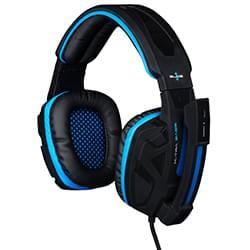 Bluestork Micro-casque KORP 2 - Gaming filaire Jack 3,5/Extra BASS/HP XL Cybertek