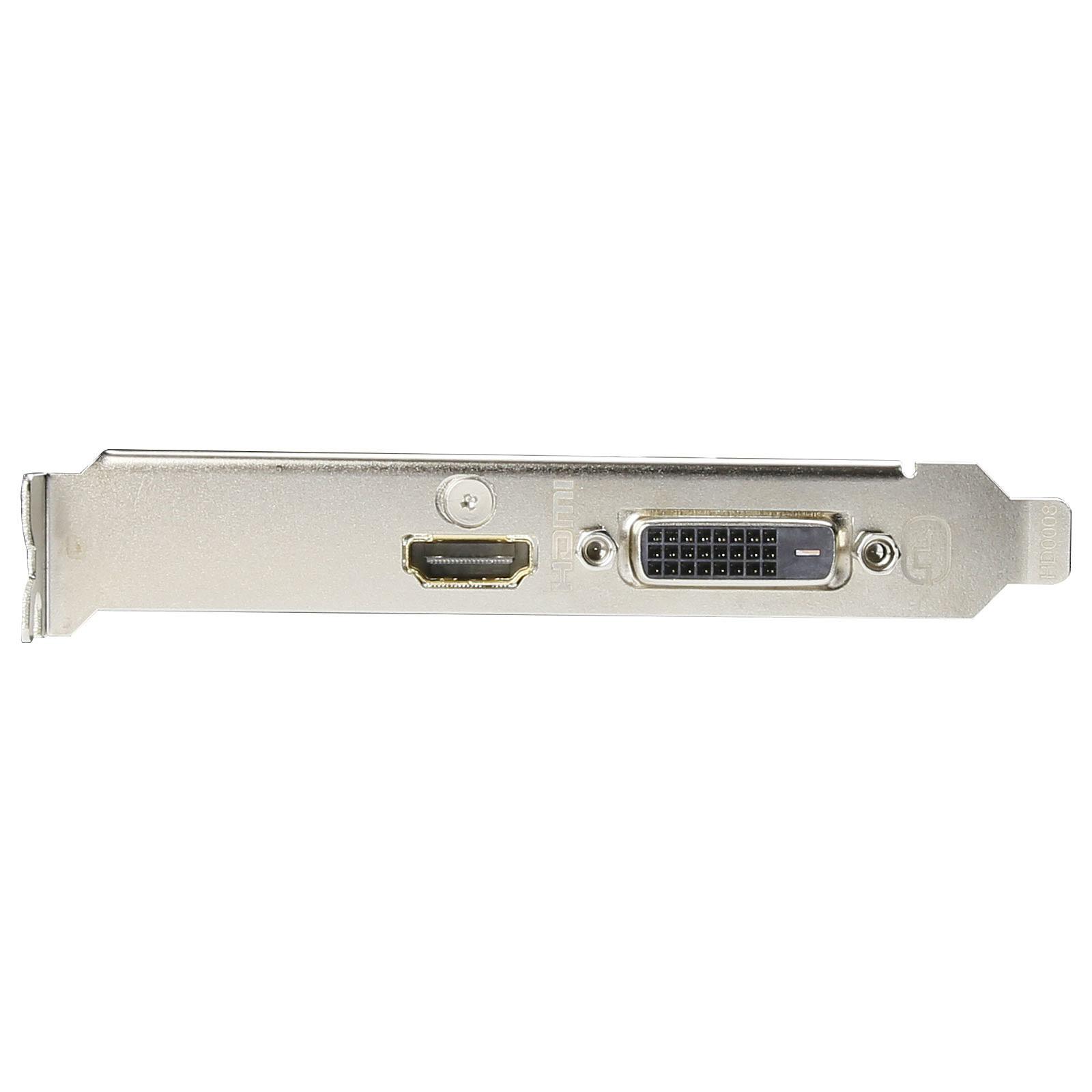 Gigabyte GT 1030 Low Profile D4 2G 2Go - Carte graphique Gigabyte - 1