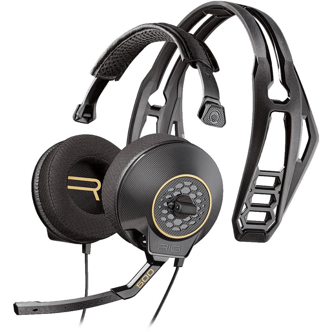 Plantronics RIG 500HD 7.1 Surround Noir - Micro-casque - 1