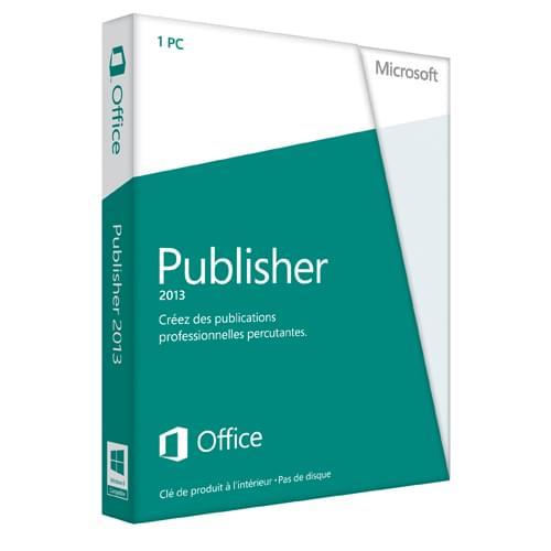 Microsoft Publisher 2013 - 1 Licence - Logiciel application - 0