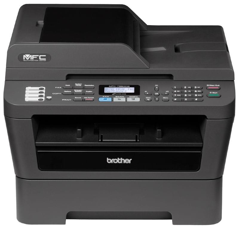 Brother MFC-7860DW (MFC7860DWF1) - Achat / Vente Imprimante Multifonction sur Cybertek.fr - 0
