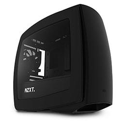 Cybertek Boîtier PC NZXT Manta Mat Noir Fenêtre - mT/Sans Alim/ITX