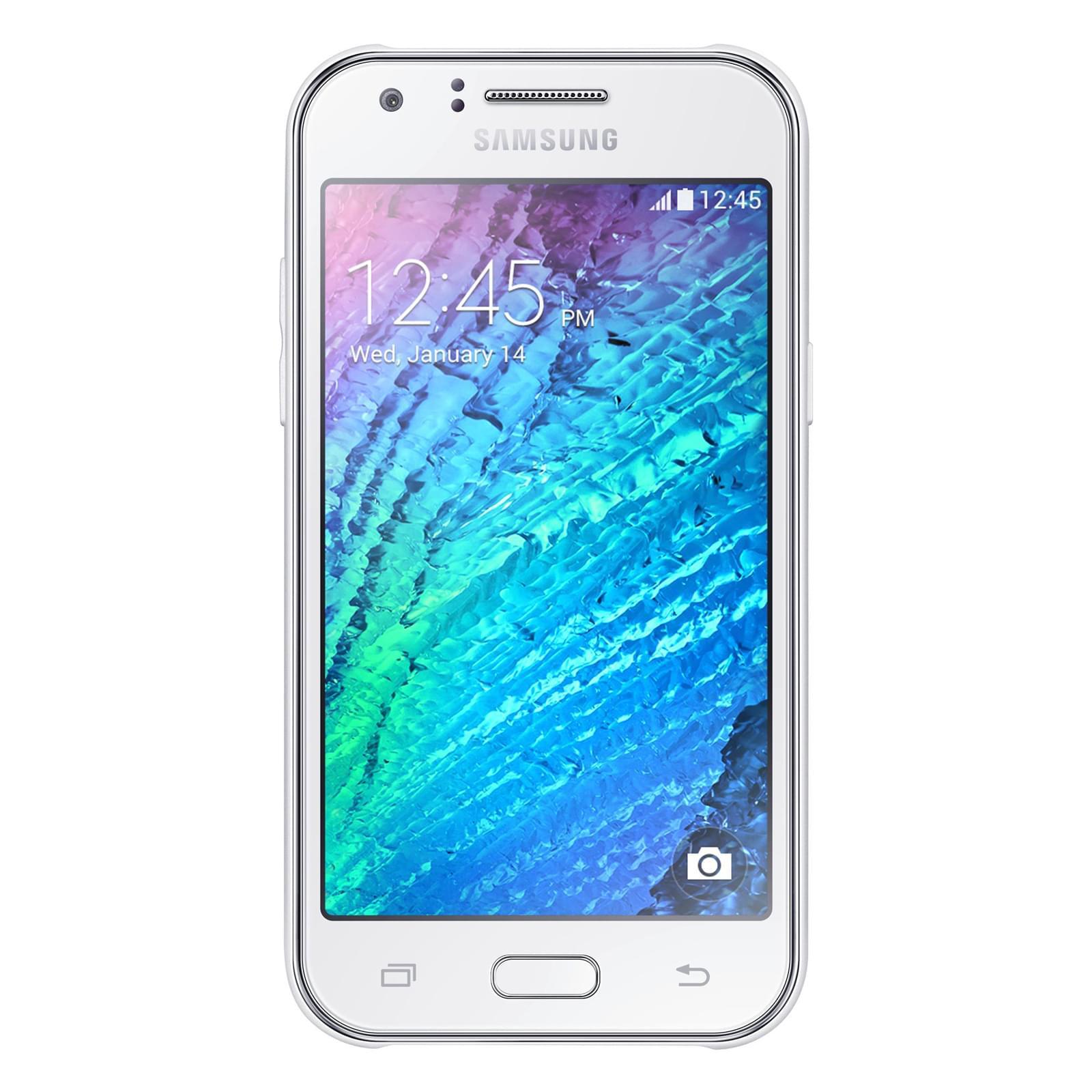 Samsung Galaxy J1 SM-J100H White - Téléphonie Samsung - 0