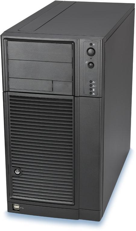 Intel SC5299DP serveur/550W/Noir - Boîtier PC avec Alim - 0