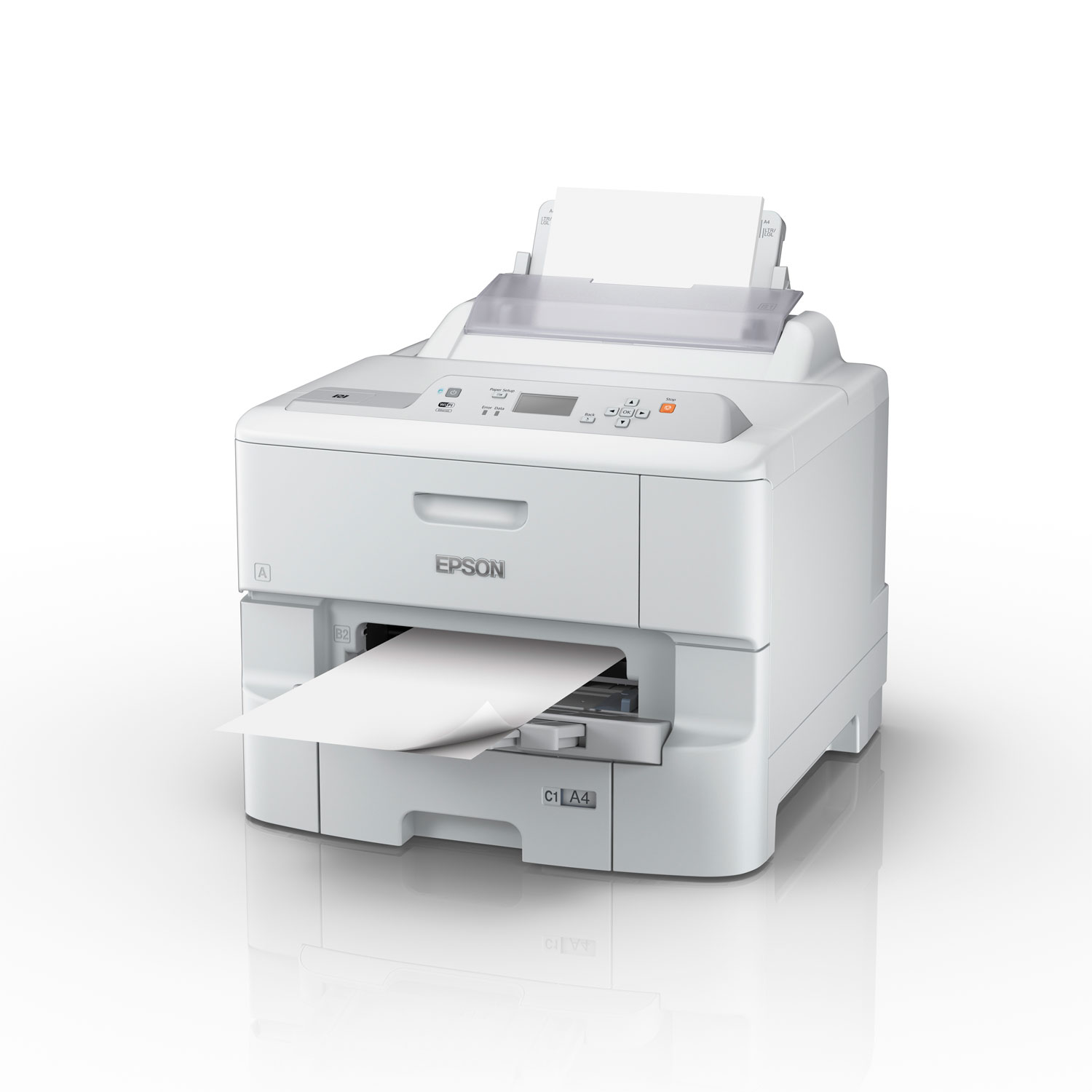 Epson WorkForce Pro WF-6090DW (C11CD47301) - Achat / Vente Imprimante sur Cybertek.fr - 1