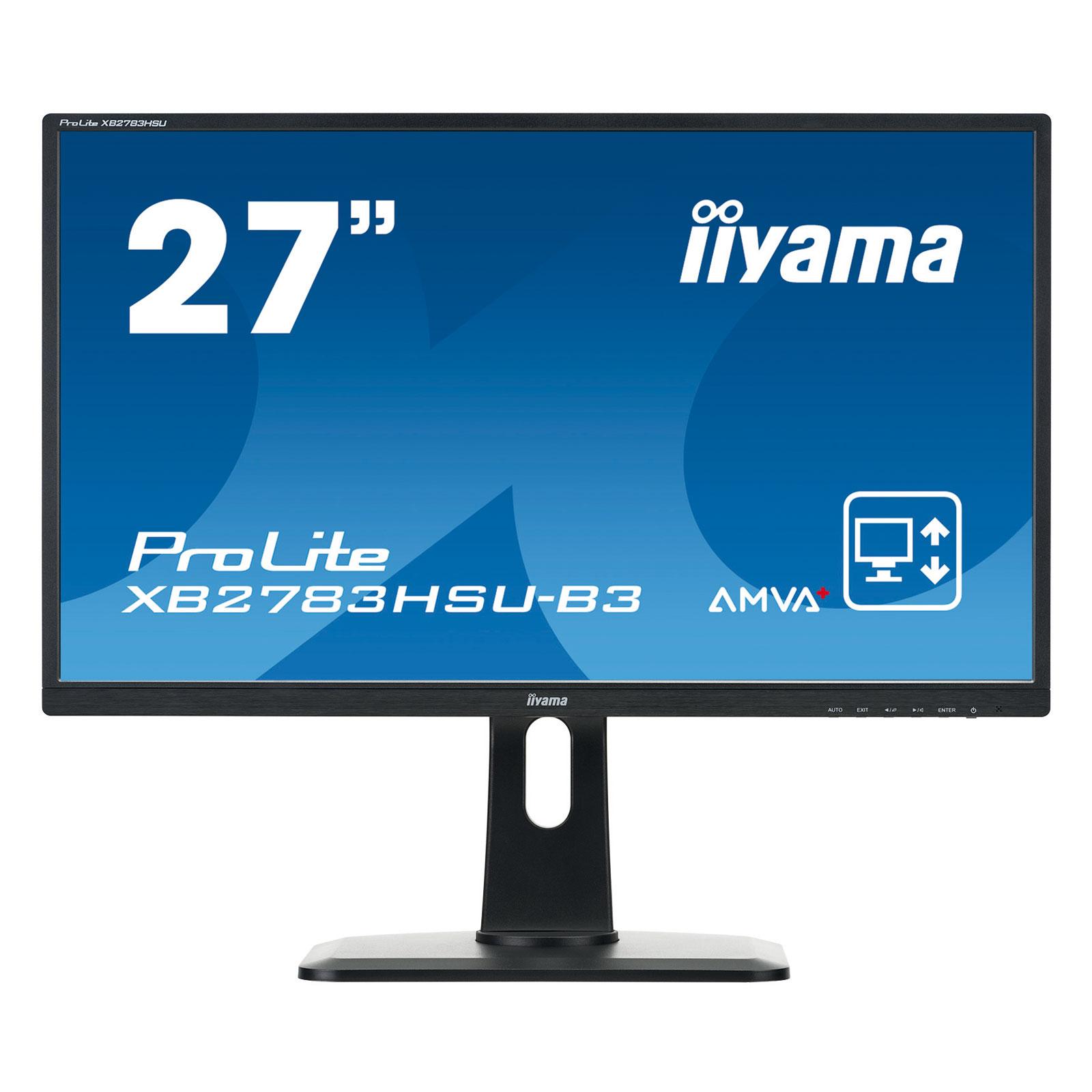 """Iiyama 27""""  XB2783HSU-B3 - Ecran PC Iiyama - Cybertek.fr - 3"""