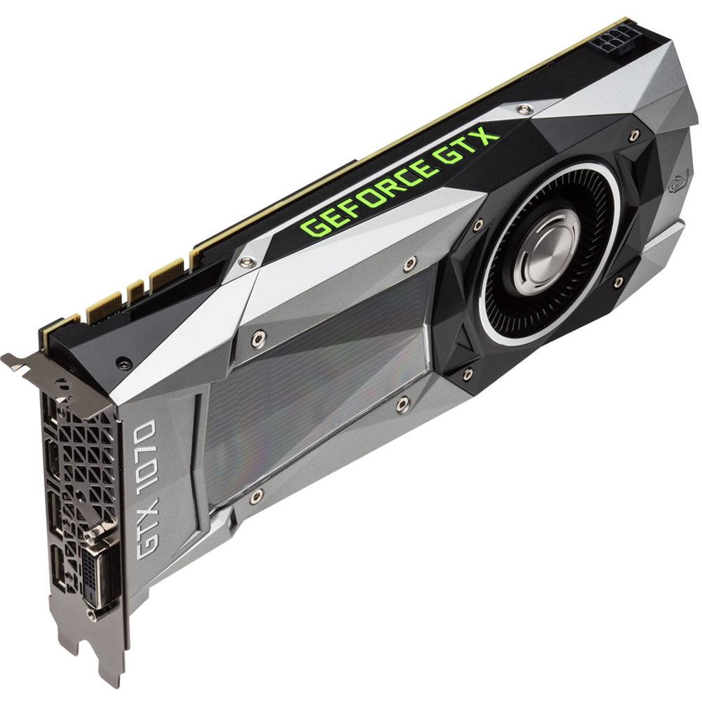 PNY GeForce GTX 1070 8GB GDDR5 (GF1070GTXCD8GEPB) - Achat / Vente Carte Graphique sur Cybertek.fr - 1