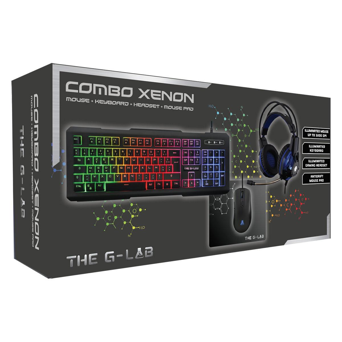The G-LAB Gaming Combo XENON - Pack Clavier/Souris - Cybertek.fr - 1