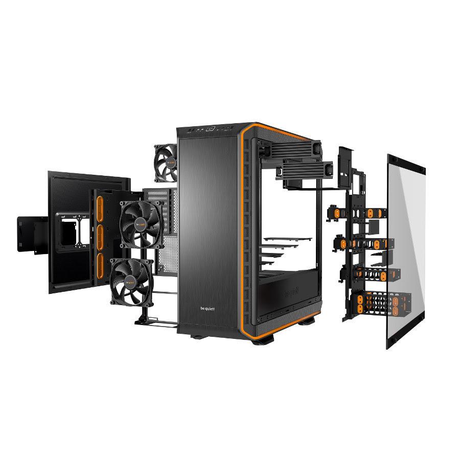 Be Quiet! Dark Base Pro 900 Orange V2 Orange - Boîtier PC - 4