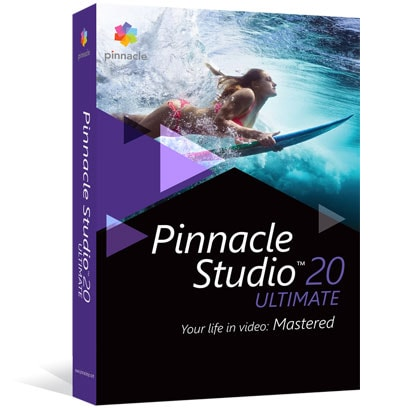 Pinnacle Logiciel application Pinnacle Studio Ultimate v.20 (PNST20ULMLEU) - Achat / Vente Logiciel application sur Cybertek.fr - 0