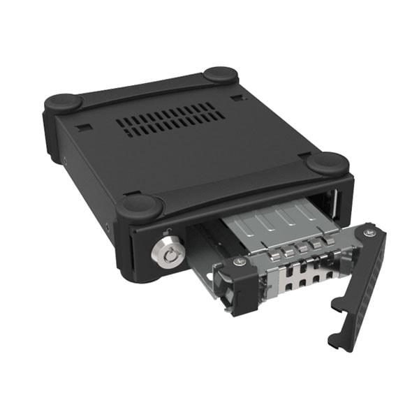 "Icy Dock 2.5"" USB3.0 SATA/SAS Tough Armor - MB991U3-1SB (MB991U3-1SB) - Achat / Vente Boîtier externe sur Cybertek.fr - 4"