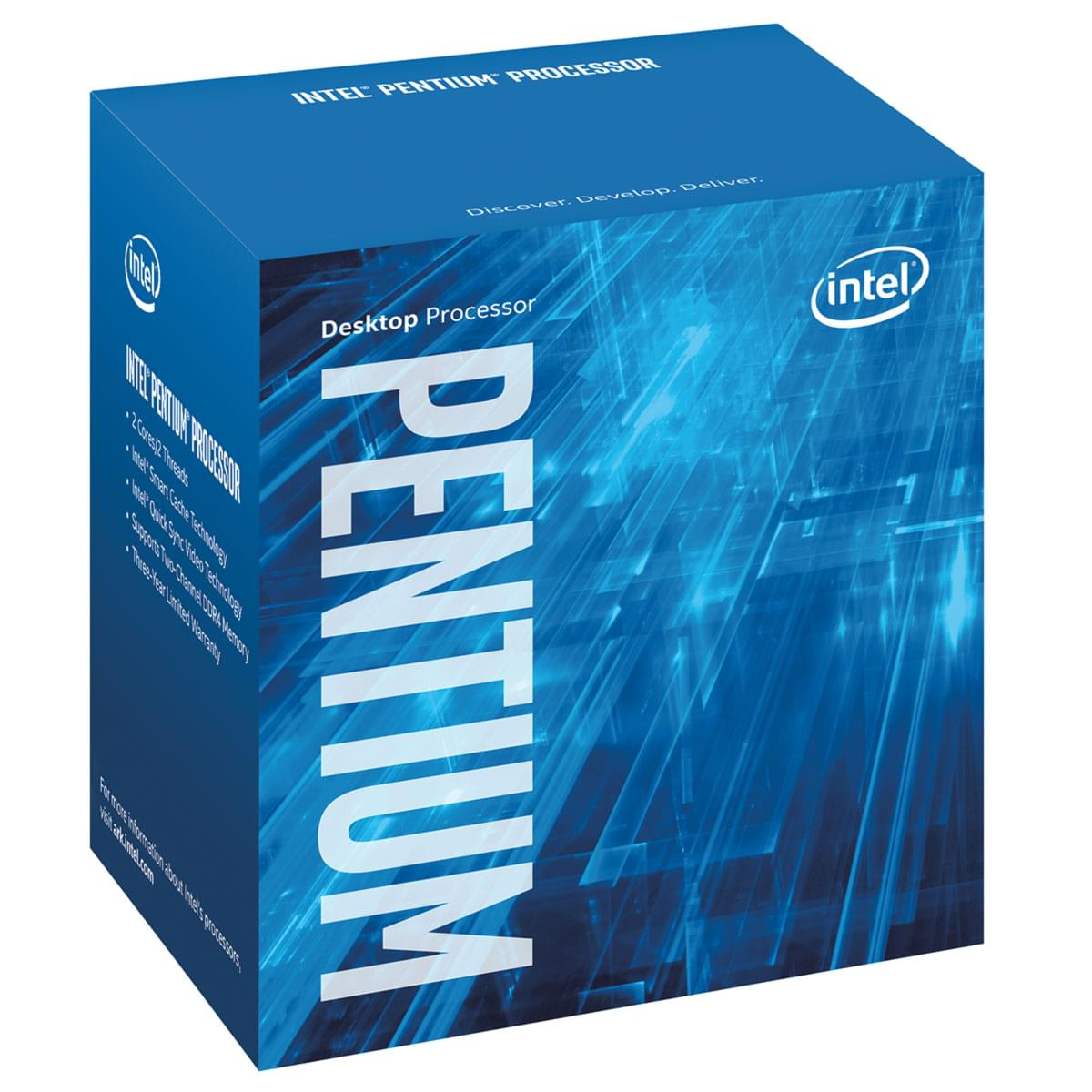 Intel Pentium G4500 (BX80662G4500) - Achat / Vente Processeur sur Cybertek.fr - 0