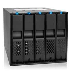 Icy Dock Tiroir Extractible FlexCage MB975SP-B - 5 HDD sur 3x5.25