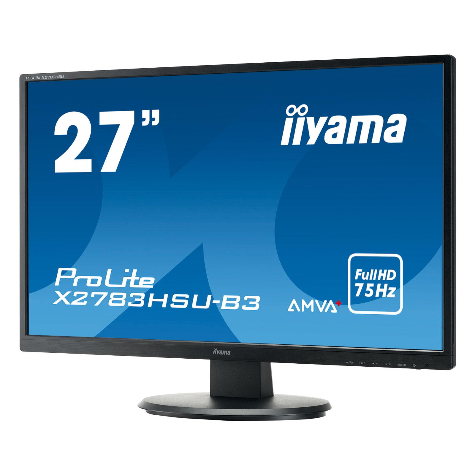 """Iiyama 27""""  X2783HSU-B3 - Ecran PC Iiyama - Cybertek.fr - 2"""