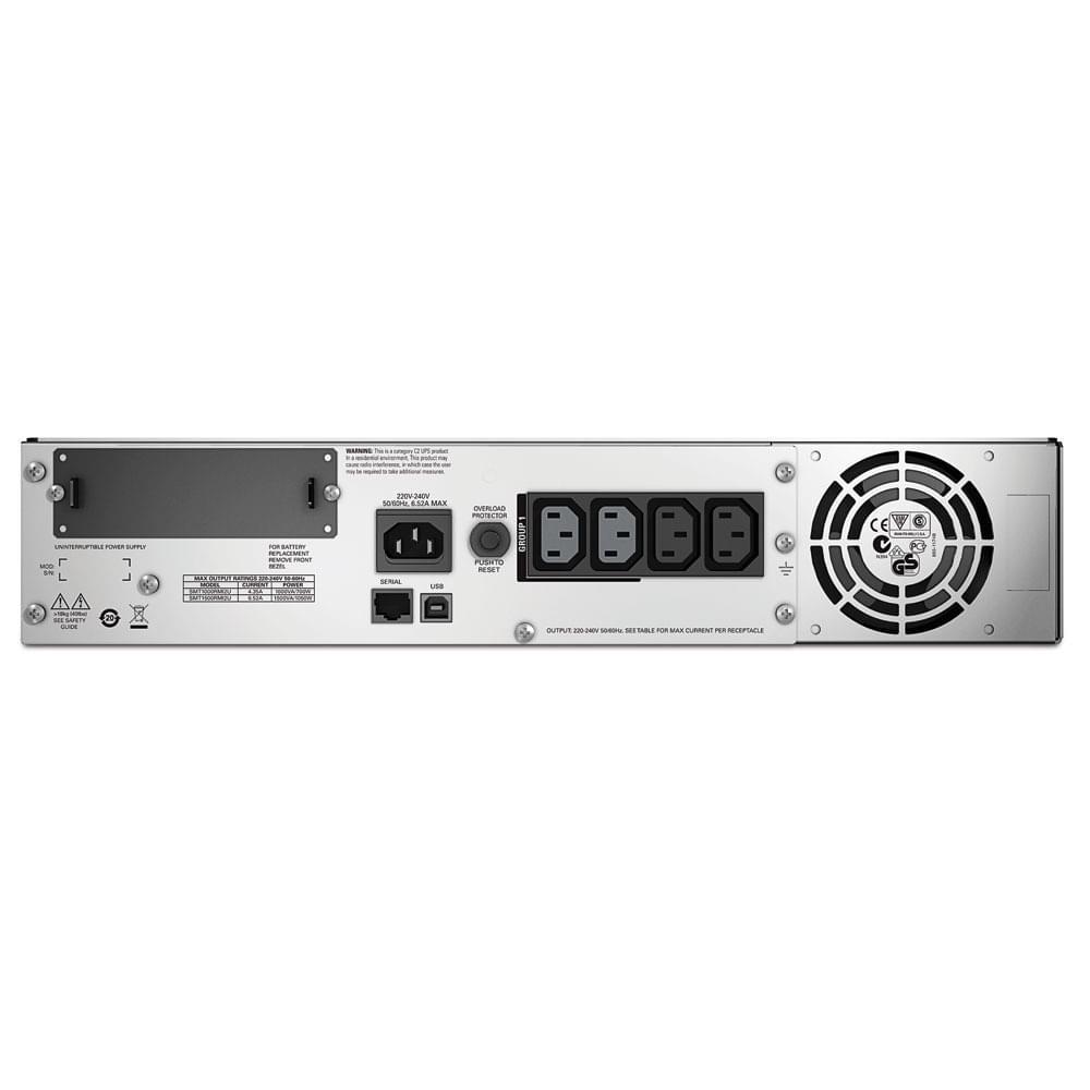 APC Smart UPS 1500VA Rackable SMT1500RMI2U (SMT1500RMI2U) - Achat / Vente Onduleur - Multiprises sur Cybertek.fr - 0