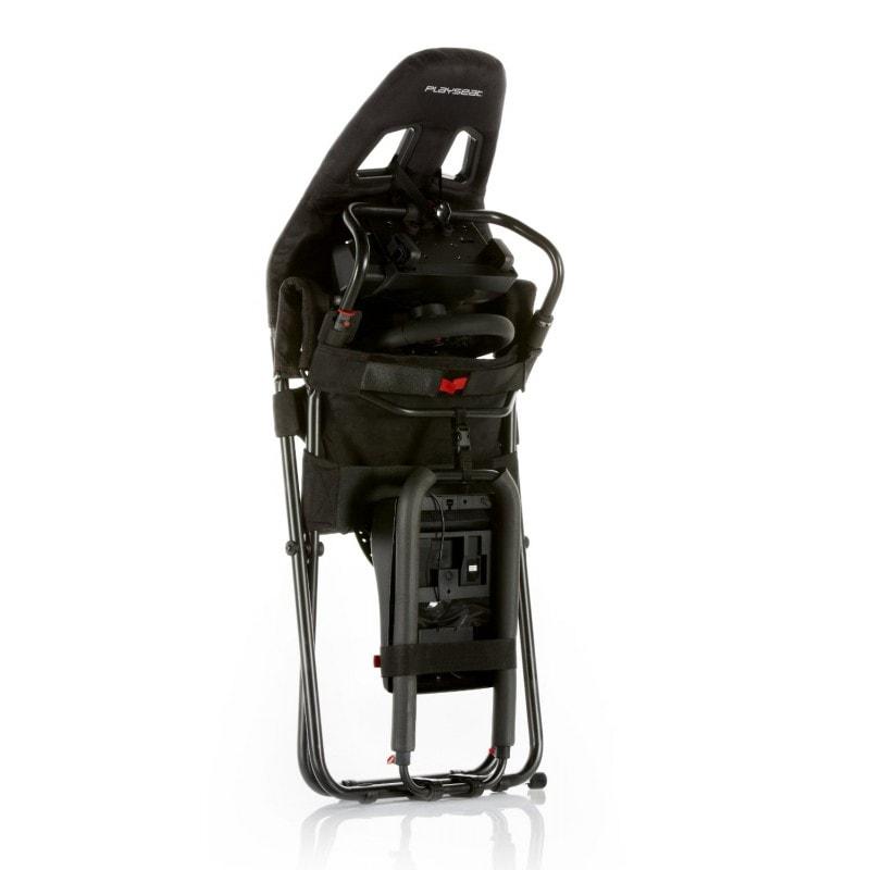 Playseat Challenge Black (siège + support volant) Noir - Siège PC Gamer - 1