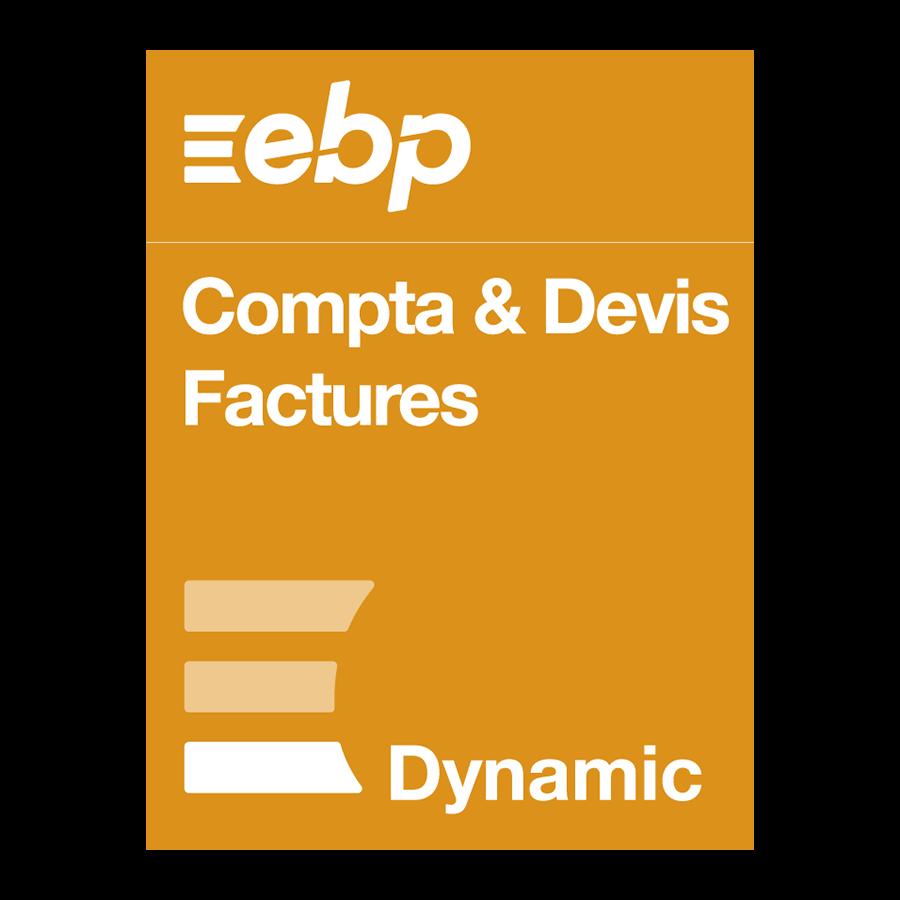 EBP Compta & Devis-Factures DYNAMIC 12 mois + VIP - Logiciel application - 0