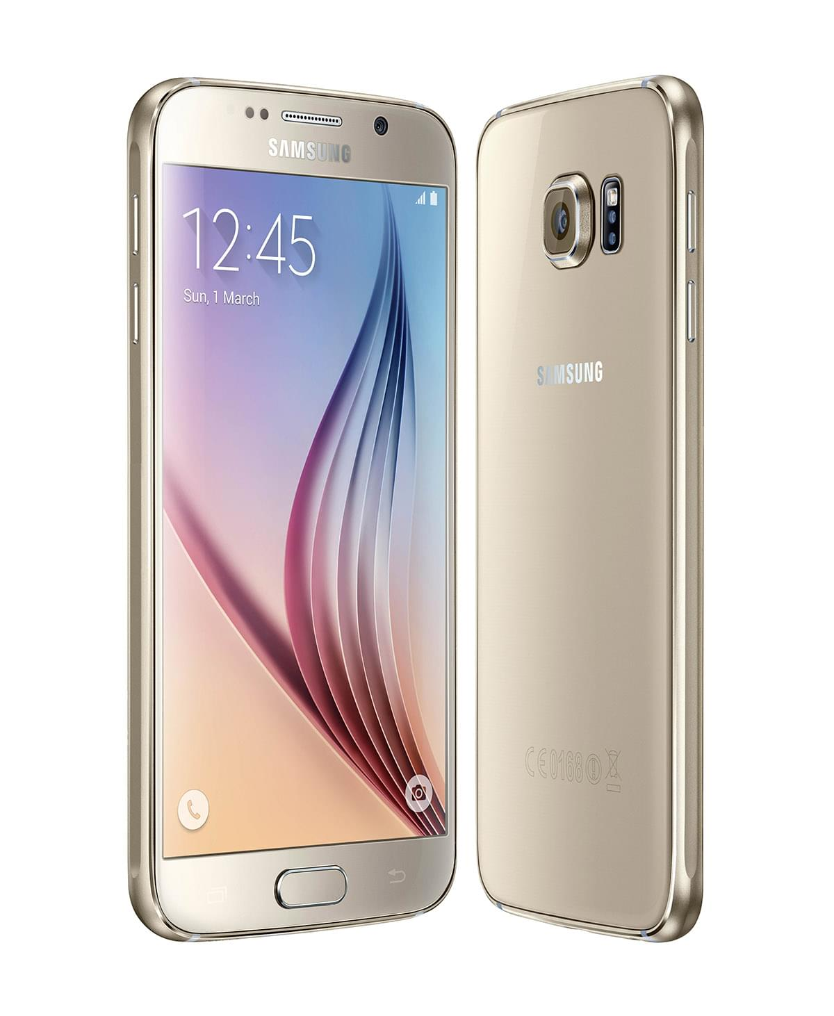 Samsung Galaxy S6 128Go SM-G920F White - Achat / Vente Téléphonie sur Cybertek.fr - 0