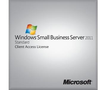 Microsoft CAL User Windows SBS 2011 Standard COEM (6UA-03581 soldé) - Achat / Vente Logiciel système exploitation sur Cybertek.fr - 0