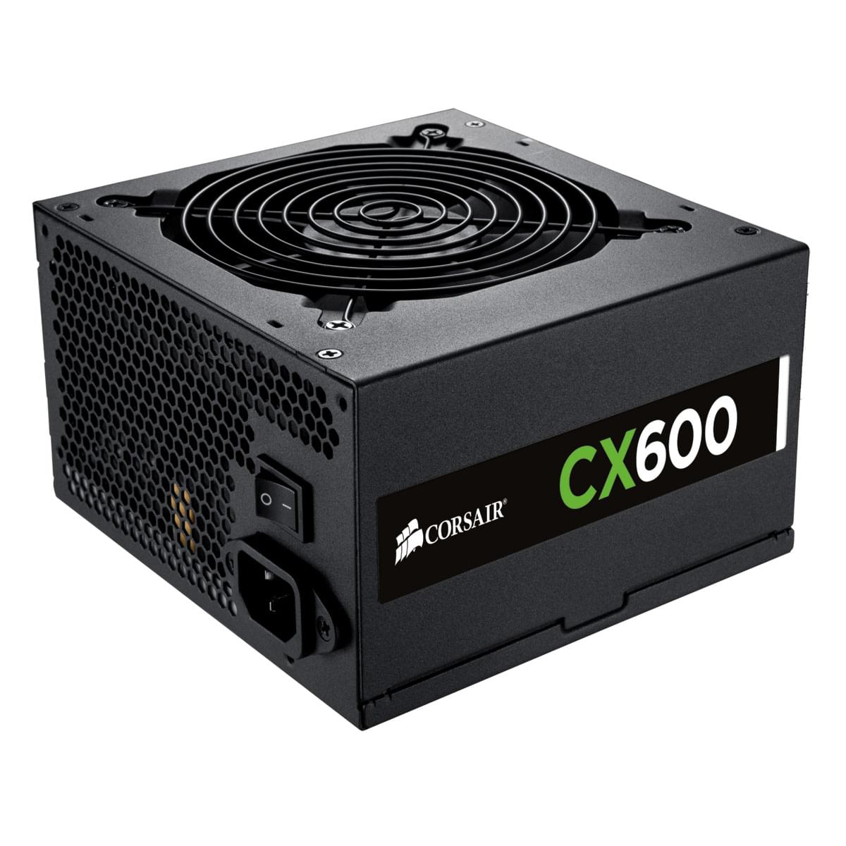 Alimentation PC Corsair ATX 600 Watts CX600 V2 80+ Bronze CP-9020048-EU - 0