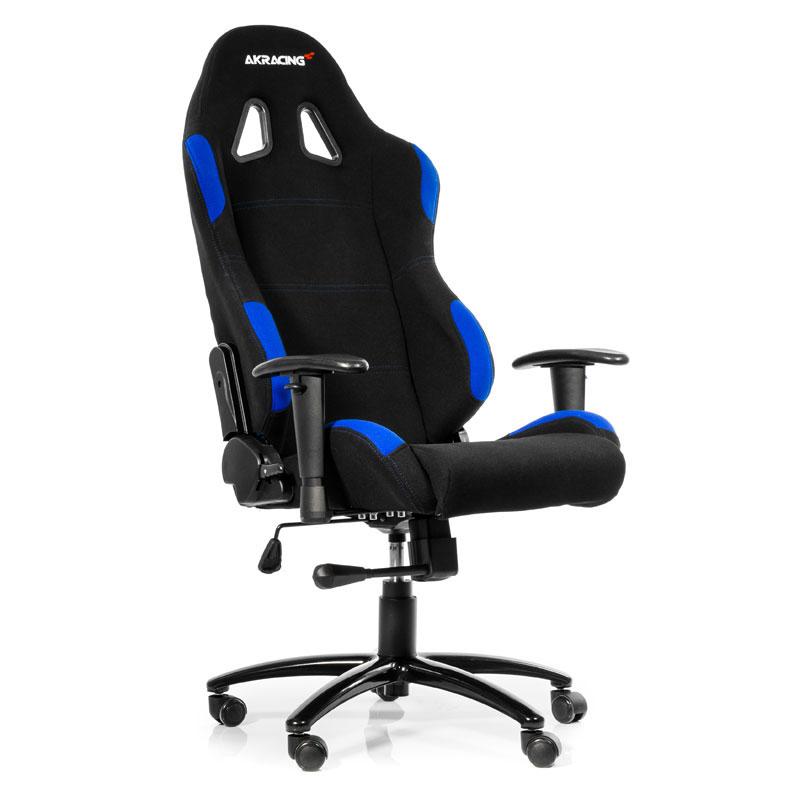 AKRacing Gaming Chair K7012 Noir/Bleu - Siège PC Gamer - 0
