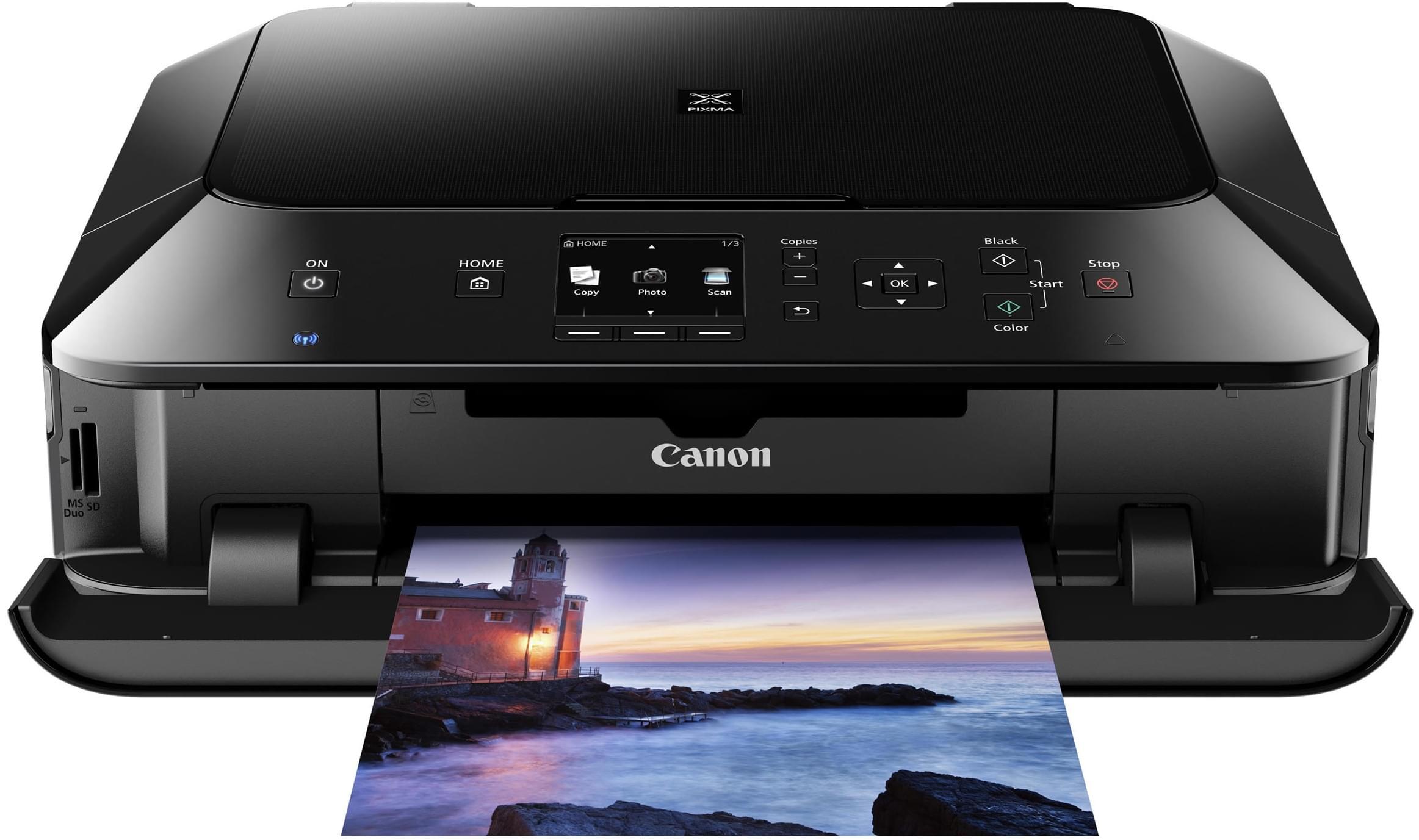 Canon PIXMA MG5450 (6225B006 / 6225B028AA obso) - Achat / Vente Imprimante Multifonction sur Cybertek.fr - 0