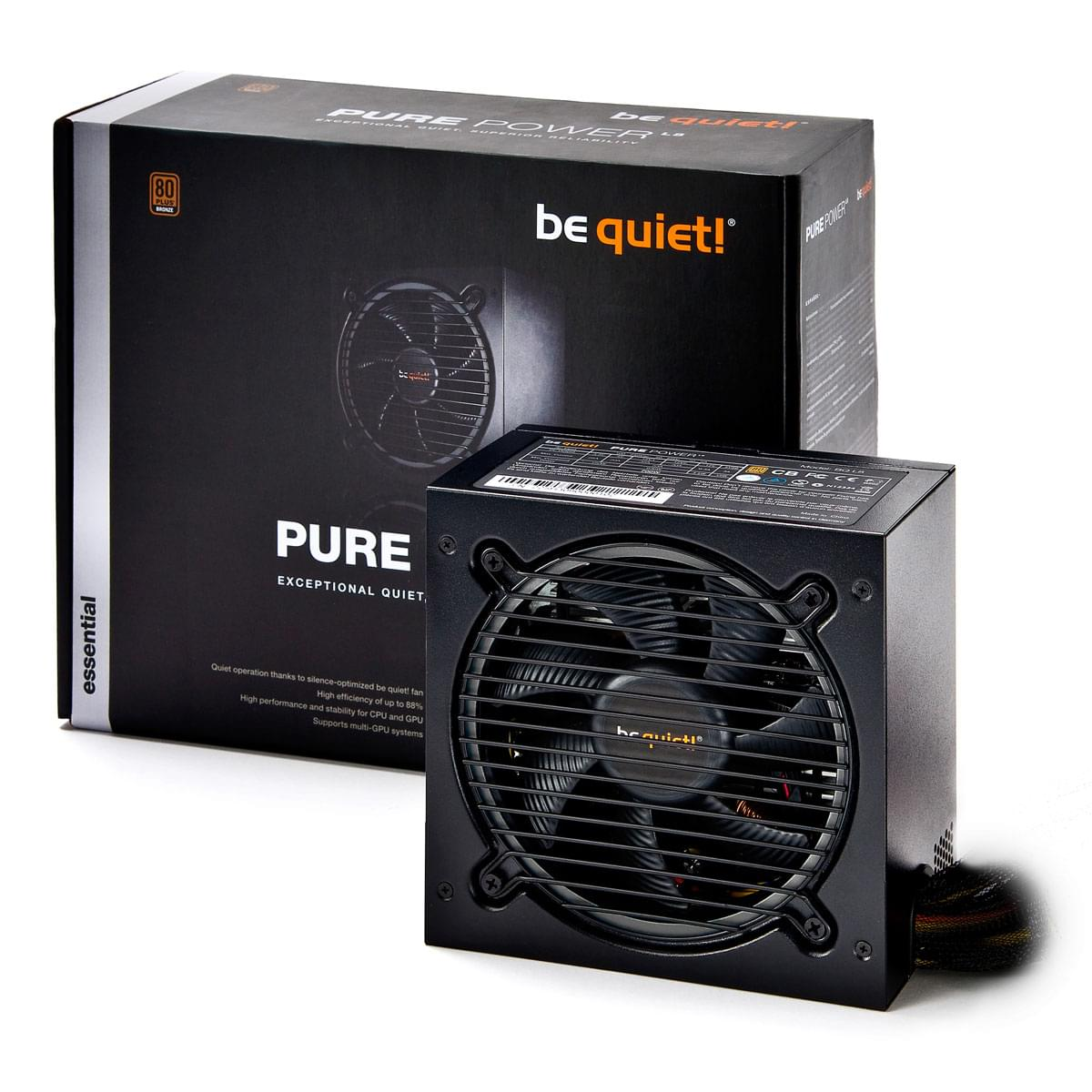 Be Quiet! ATX 300W Pure Power L8 BN220 (BN220) - Achat / Vente Alimentation sur Cybertek.fr - 0