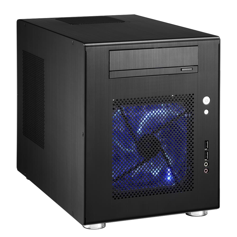 Lian-Li PC-Q08B Noir - Achat / Vente Boîtier PC sur Cybertek.fr - 0