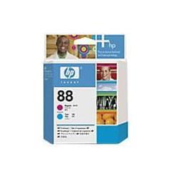 HP Tête d'impression 88 Magenta/Cyan C9382A (C9382A) - Achat / Vente Consommable Imprimante sur Cybertek.fr - 0