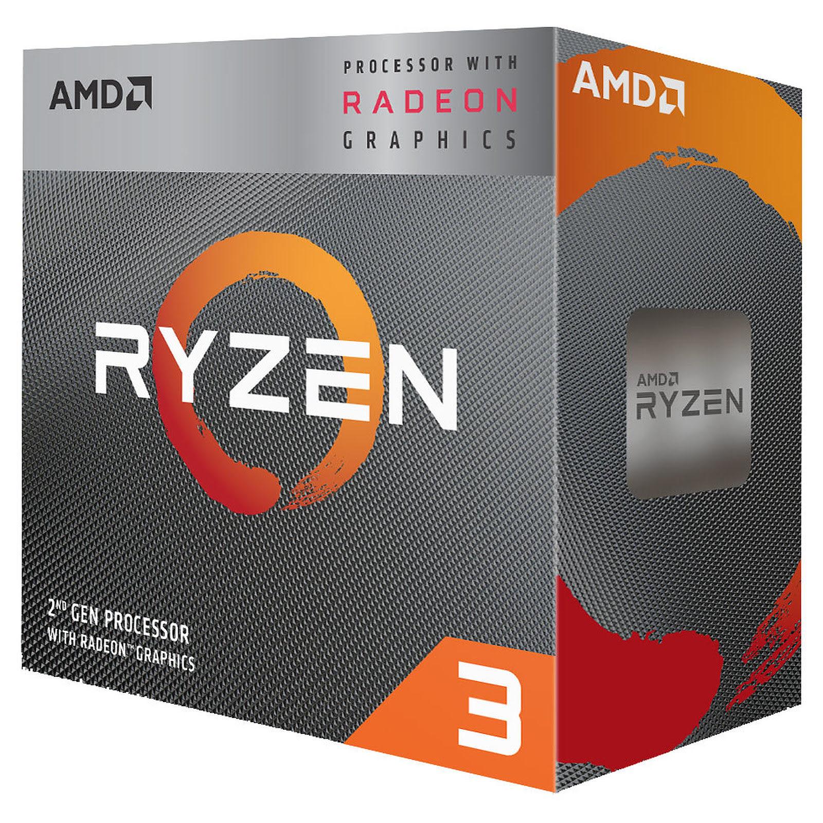 AMD Ryzen 3 3200G (YD3200C5FHBOX) - Achat / Vente Processeur sur Cybertek.fr - 0