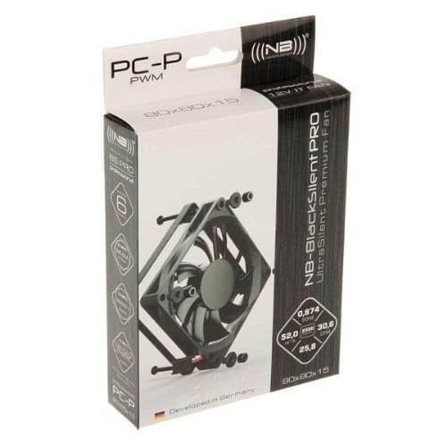 NoiseBlocker ITR-PC-P Ventilateur de boitier (ITR-PC-P (caseking)) - Achat / Vente Ventilateur CPU sur Cybertek.fr - 0