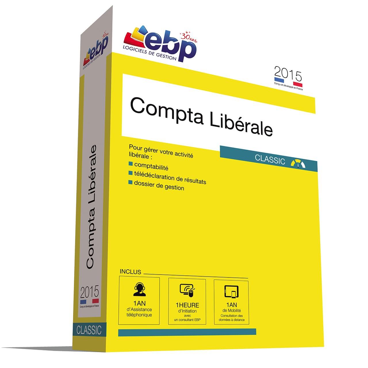 EBP Compta Libérale Classic OL 2015 + VIP - Logiciel application - 0