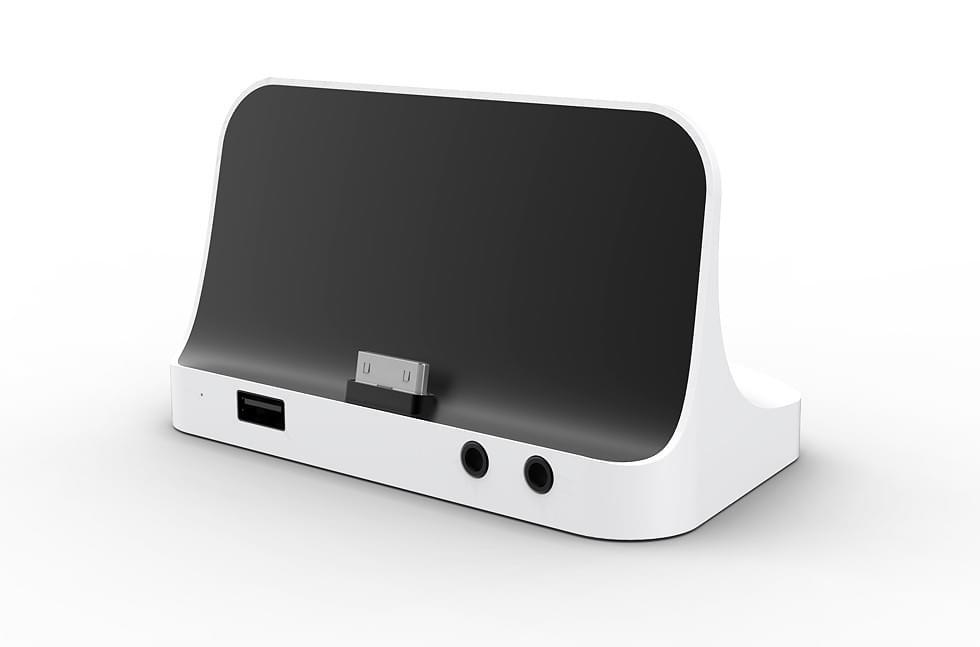 Airis Docking Station pour SlimPad (ZASLIMPADD) - Achat / Vente Accessoire Tablette sur Cybertek.fr - 0