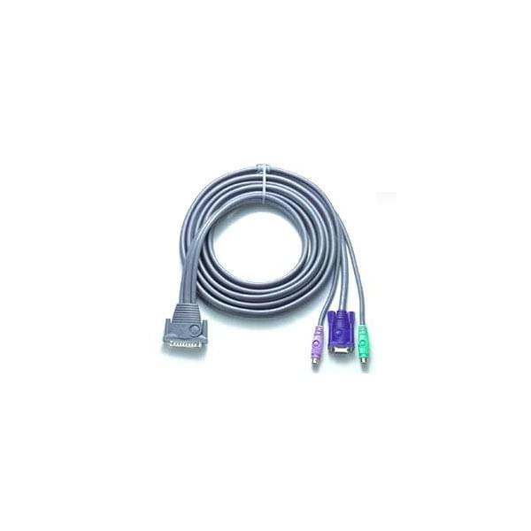 Aten Câble KVM 2L-1603P 3m (2L-1603P) - Achat / Vente Connectique PC sur Cybertek.fr - 0