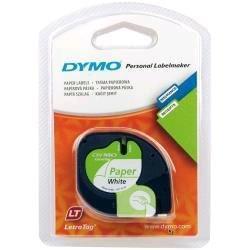 Dymo Consommable Imprimante Ruban d'étiquettes Paper White 12mmx4mm S0721510 Cybertek