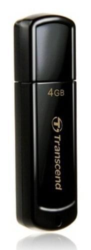 Transcend Clé 4Go USB 2.0 JETFLASH TS4GJF350 NOIR (TS4GJF350) - Achat / Vente Clé USB sur Cybertek.fr - 0