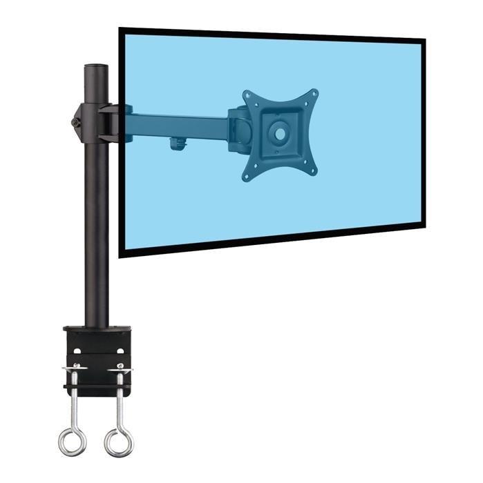 """Support de bureau à pince 1 écran 13""""-27"""" - 3 axes - Accessoire écran - 0"""