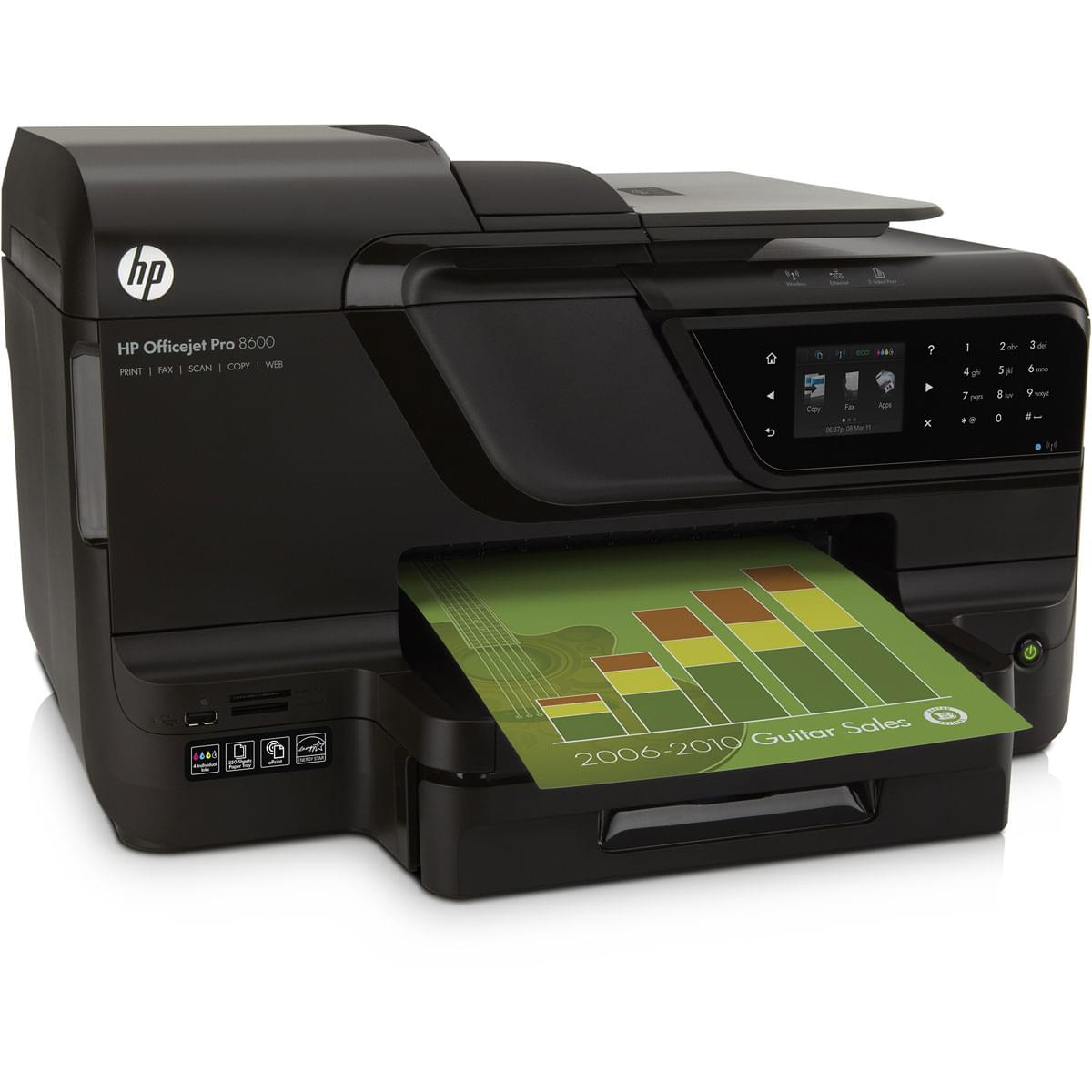 HP OfficeJet PRO 8600 e-All-in-One N911a (CM749A#BEL) - Achat / Vente Imprimante multifonction sur Cybertek.fr - 0