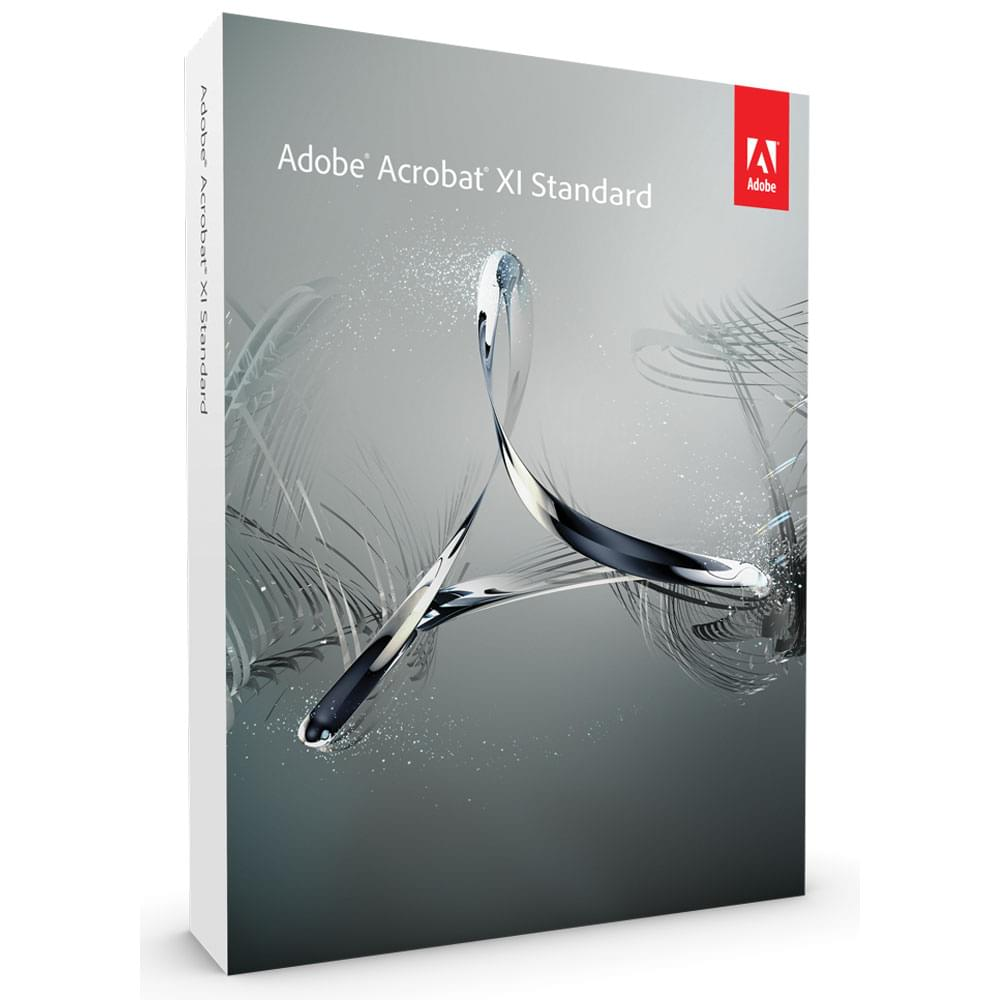 Adobe Acrobat XI Standard (65196698) - Achat / Vente Logiciel Application sur Cybertek.fr - 0