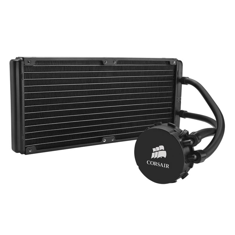 Corsair Watercooling 280mm (2x140) H110 CW-9060014-WW (CW-9060014-WW) - Achat / Vente Watercooling sur Cybertek.fr - 0