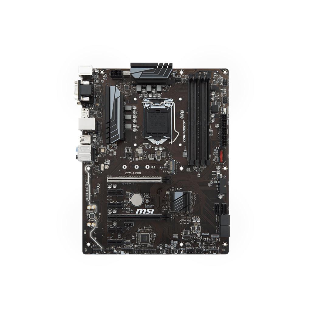 MSI Z370-A PRO ATX DDR4 - Carte mère MSI - Cybertek.fr - 1