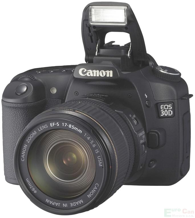 "Canon EOS 30D Noir - 10MP/-/2""/CF + EF-S 18-55mm - Table de mixage - 0"
