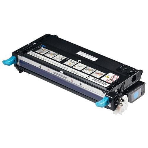 Toner Cyan 8000p - C9721A pour imprimante Laser HP - 0